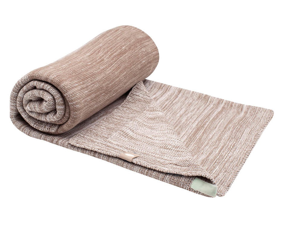 single layer crip blanket Desert Taupe