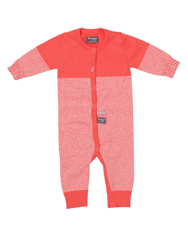 knitted babysuit Red