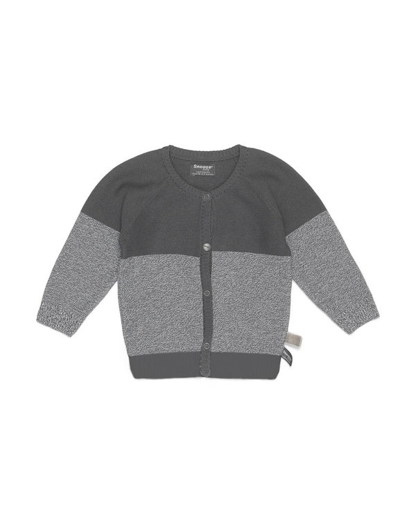 knitted cardigan Grey