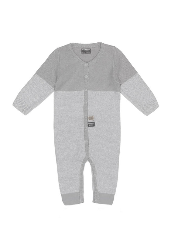 knitted babysuit Grey