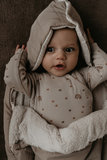 Wonderfully soft and comfortable footmuff Stone Beige_