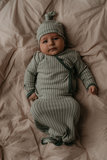 newborn cocon and suit in 1 Smokey Green_