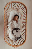 ORGANIC new born cocoon 0-3 months incl hat Stone Beige Pinguin_