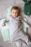 Sleepsuit sleeveless Grey Melange_