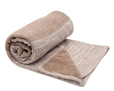 double layer crip blanket Desert Taupe