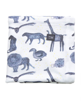 2-pack: Swaddle Storm Blue + Bumble 100x150