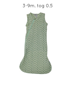 Sleepsuit sleeveless Gray Mist