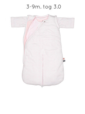 4-season sleepsuit (3-9 months) Orchid Blush