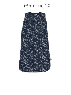 Sleepsuit sleeveless indigo stars
