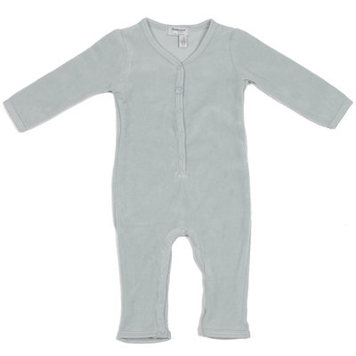 velour babysuit Grey