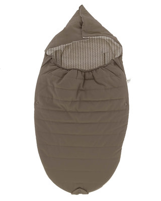Wonderfully soft and comfortable footmuff Warm Brown