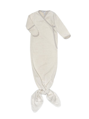 ORGANIC new born cocoon 3-6 months Stone Beige