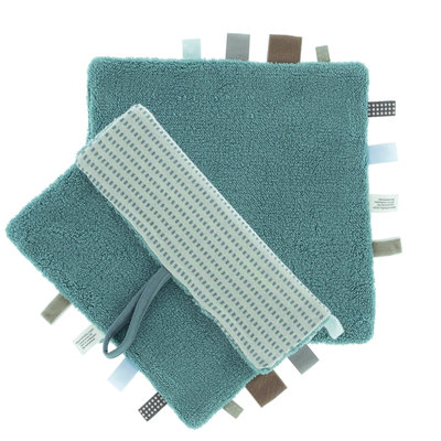 Comfort toy/blanket (Sweet Dreaming) Smokey Green