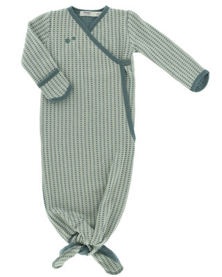ORGANIC new born cocoon 3-6 months Smokey Green