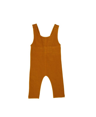 ubercute salopette made of organic cotton - colour: Toffee SS22