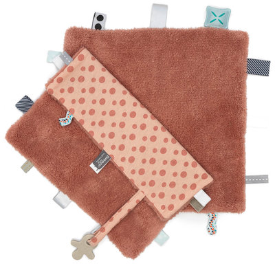 Comfort toy/blanket (Sweet Dreaming) Dusty Rose