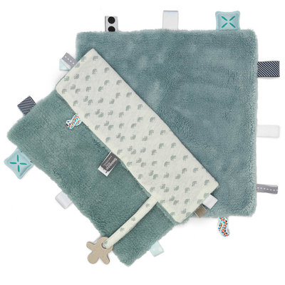 Comfort toy/blanket (Sweet Dreaming) Gray Mist