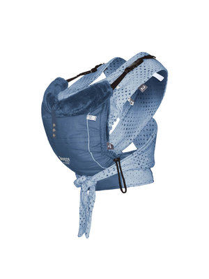 Kiss & Carry draagzak/sling combinatie Indigo Blue