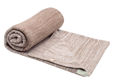 single layer cot blanket Desert Taupe