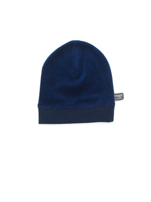 velour hat Indigo