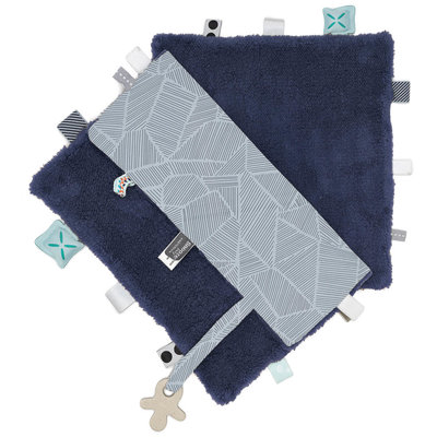 Comfort toy/blanket (Sweet Dreaming) Midnight Blue