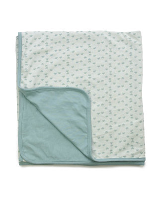 summer cot blanket Gray Mist