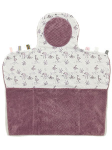 Compact changing mat (Easy Changing) Soft Mauve