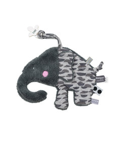 soft toy / cuddle toy Elly Elephant Frost Grey