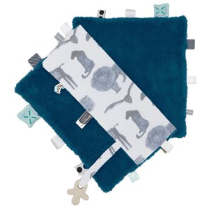 Comfort toy/blanket (Sweet Dreaming) Storm Blue