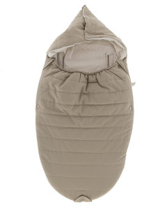 Wonderfully soft and comfortable footmuff Stone Beige