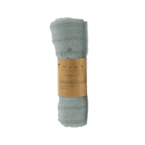 ORGANIC Swaddle crib Smokey Green 80x80cm