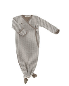 ORGANIC new born cocoon 3-6 months Warm Brown