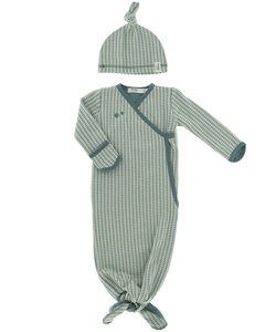 newborn cocon and suit in 1 Smokey Green