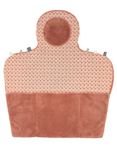 Compact changing mat (Easy Changing) Dusty Rose