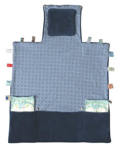 compact changing mat (Easy Changing) Indigo Blue