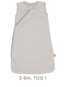 Sleepsuit sleeveless Grey Melange